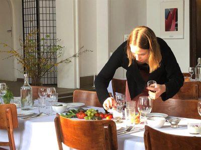 Veganes Catering für Tischgesellschaften